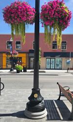 Oakville Decorative Pole Wrap Small